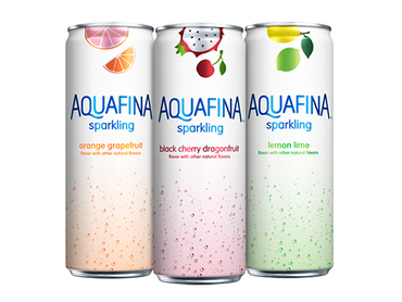 Aquafina unveils new line of flavored sparkling water